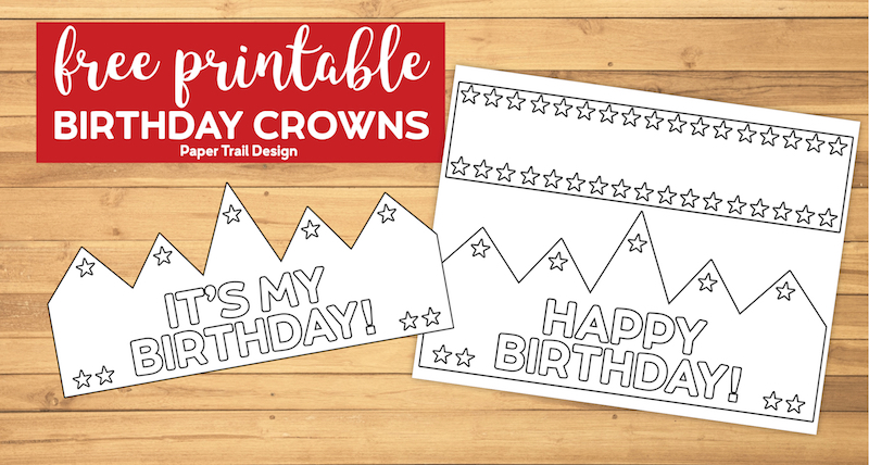 This is an image of Printable Crown in pinterest