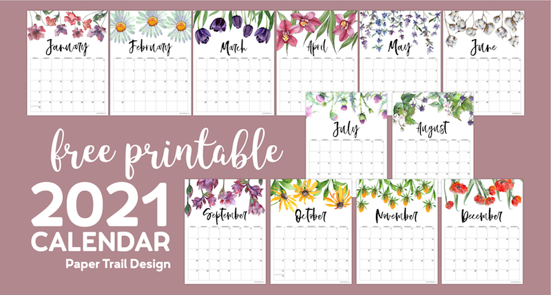 15+ 2021 Calendar Printable