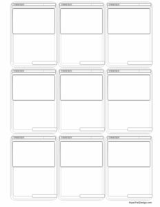 Nine trainer pokemon card templates in black and white