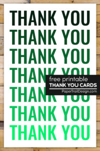 Thank you card template with text overlay- free printable thank you cards