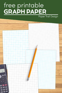 Grid paper in various sized to print free with text overlay- free printable graph paper