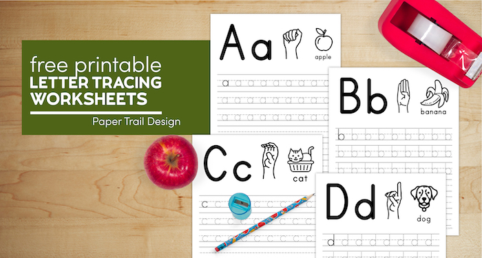 Free printable kindergarten letter tracing worksheets with text overlay- free printable letter tracing worksheets